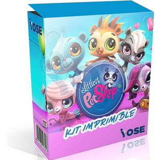 Kit Imprimible Littlest Pet Shop Candy + Envío Inmediato!!!
