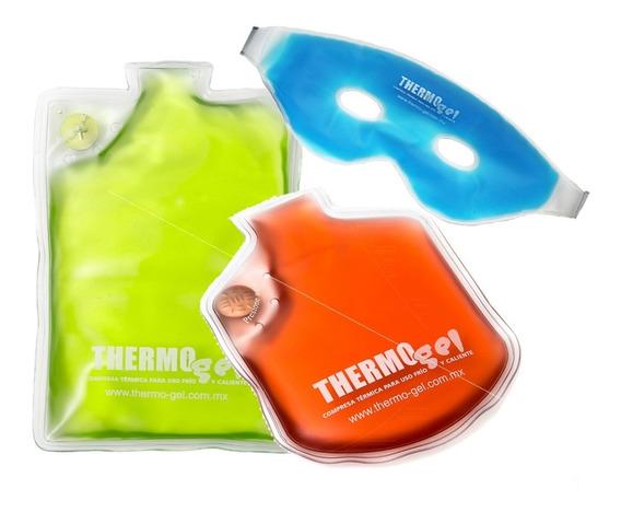 Pack Compresas M, Ch Y Antifaz Thermo Gel