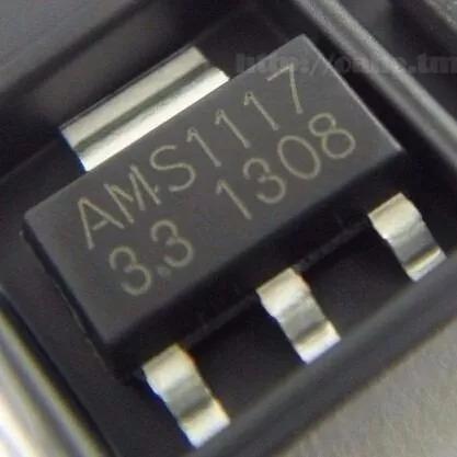 Regulador Tensao Ams1117 3v3 3.3v Ams 10 Unidades