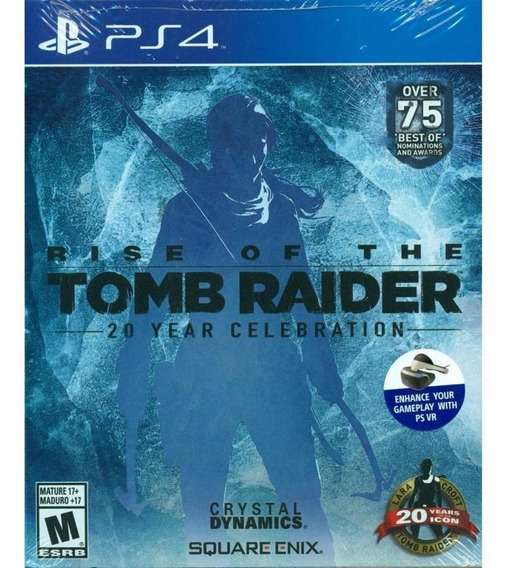 Rise Of Tomb Raider: 20 Years Celebration - Ps4