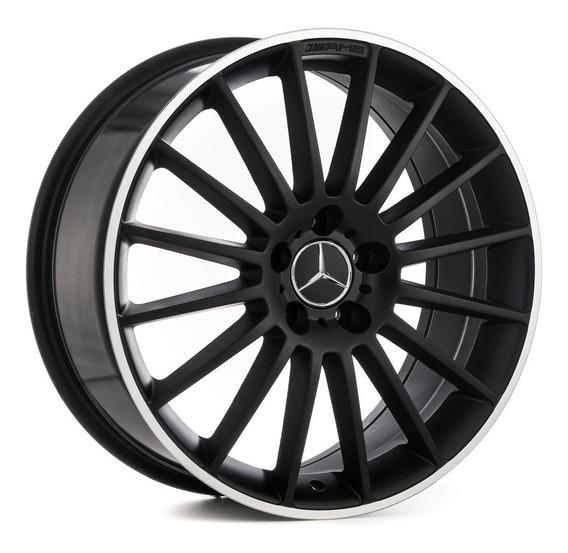 Roda Mercedes Benz A 45 Amg / Aro 18x8 / Preta Fosca 5x112
