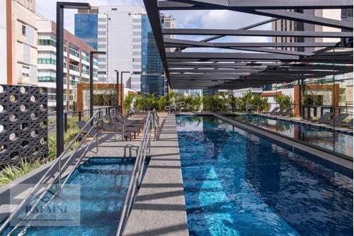 Apartamento Com 1 Dormitório À Venda, 39 M² Por R$ 706.000,00 - Vila Nova Conceição - São Paulo/sp - Ap0863