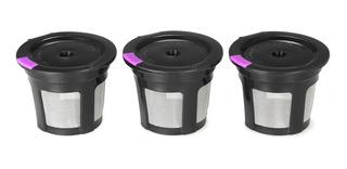 Cápsulas Reutilizables Para Cafetera Keurig, 3 Uds.