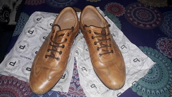 Zapatillas De Cuero Importadas Geox Casi Nuevas Talle 45
