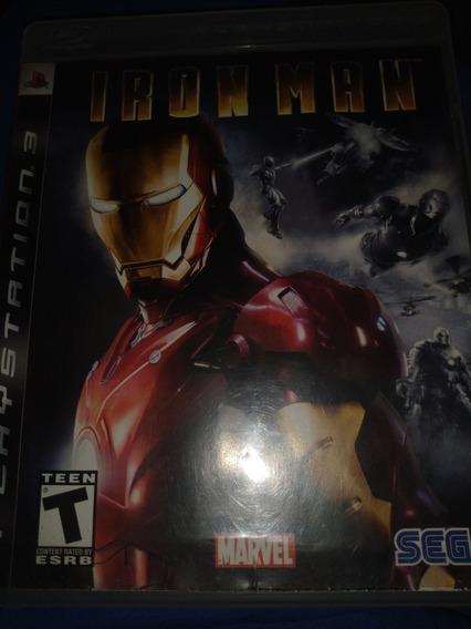 Iron Man Ps3 Mídia Física Original