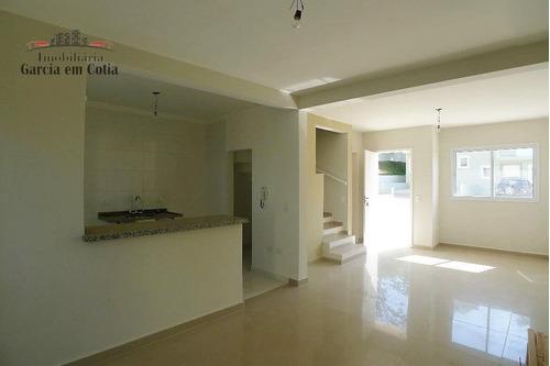 Casa A Venda No Bairro Parque Dom Henrique Em Cotia - Sp.  - M380-1
