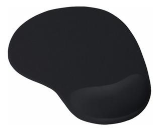 Pad Mouse Ergonómico Con Apoyo En Gel Para La Muñeca - Negro