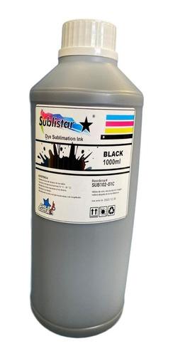 Tinta Sublimacion Black 1 Lt / Chilecostura
