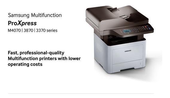 Impressora Multifuncional Samsung M4070 (45k)
