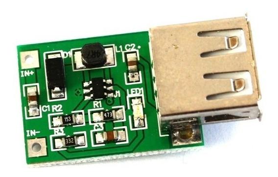 Elevador De Tensão Usb Entrada 0,9v A 5v - Saída 5v Arduino