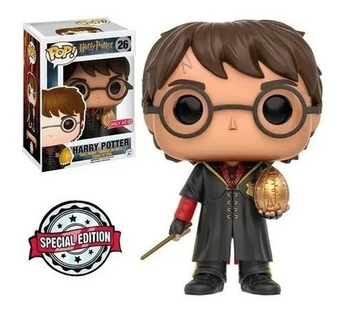 Imagem 1 de 3 de Funko Pop! Harry Potter 26 Special Edition Triwizard