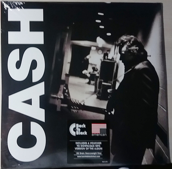Johnny Cash American Iii: Solitary Man Lp 180 Grs. Lacrado.