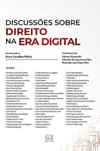 Imagem 1 de 2 de Discussões Sobre Direito Na Era Digital (2021)