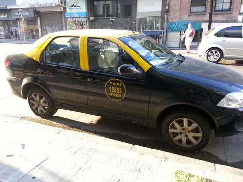 Imagen 1 de 3 de Fiat Siena Taxi 2015 Gnc Unica Mano 49000km