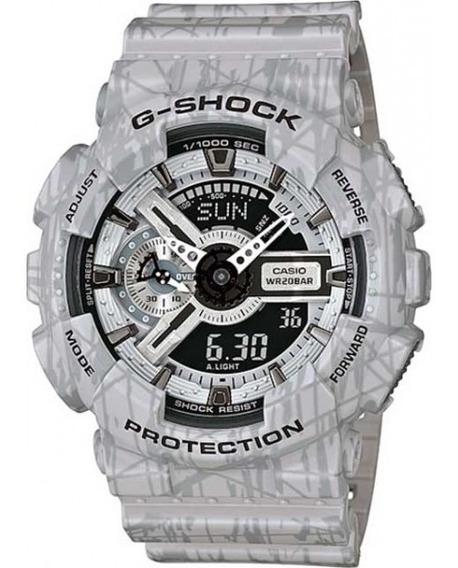 Relógio G-shock Anadig A-110sl-8adr Original