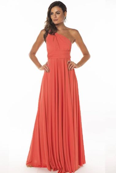 Vestido Longo Varias Formas De Uso 8 Em 1 Multiformas 238