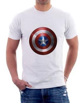 Camiseta - Capitão América - Vingadores -