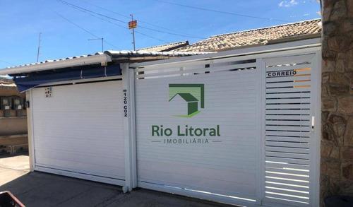Casa À Venda, 64 M² Por R$ 350.000,00 - Jardim Marileia - Rio Das Ostras/rj - Ca1211
