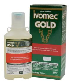 Ivomec Gold 200ml Injetável Original 3,15% Ivermectina