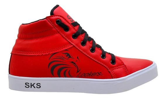 Tênis Sks Red Lookers Pronta Entrega Barato Top