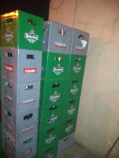 Cajones De Cerveza Vacíos