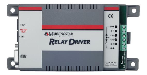 Caja De Reles Para Regulador Morningstar - Rd-1 - Enertik