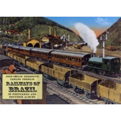 Railways Of Brazil - In Postcards And Souvenir Albuns
