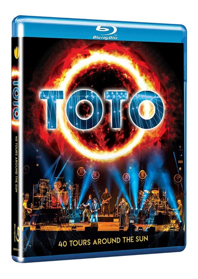 Blu Ray Toto 40 Tours Around The Sun