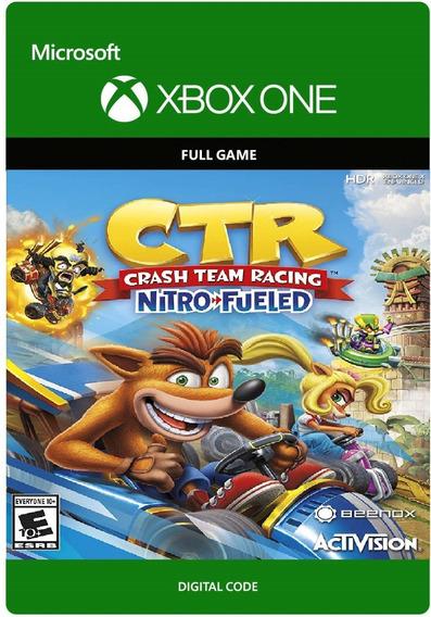 Crash Team Racing Nitro Fueled Xbox One Codigo 25 Digitos