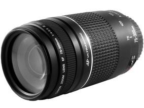 Lente Canon Ef75-300mm F/4-5.6 Iii