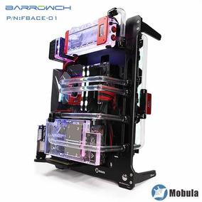 Gabinete Barrowch Mobula + Suporte Vertical Vga + Riser