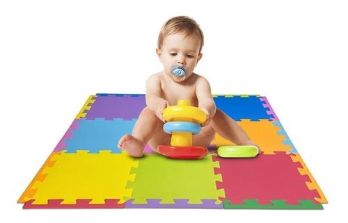 20 Peças Tapete Eva Tatame Bebê Infantil 50x50x1 40 Bordas