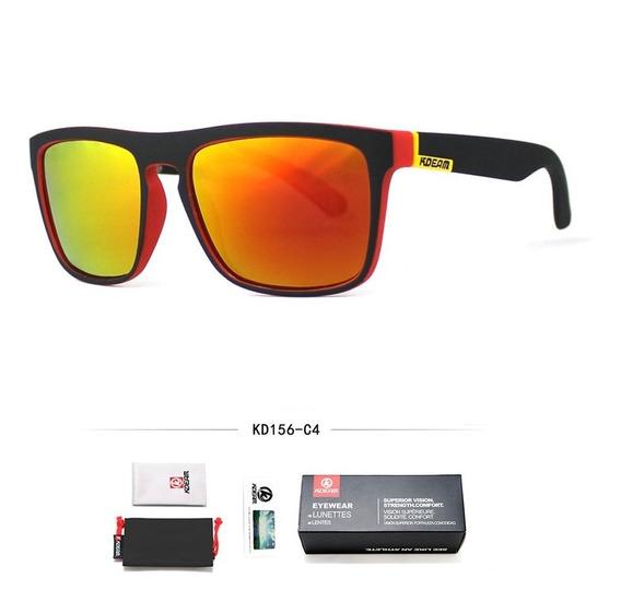 Óculos De Sol Masculino Polarizado Original Kd125 Acessórios