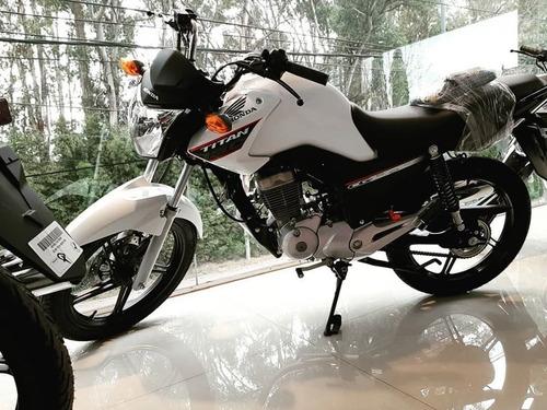 New Titan Cg 150 Honda Retira Hoy 0km 12/18 C/tarj Motopier