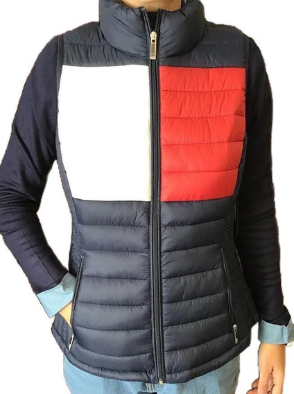 Tommy Hilfiger Hermoso Chaleco Para Mujer Empacable