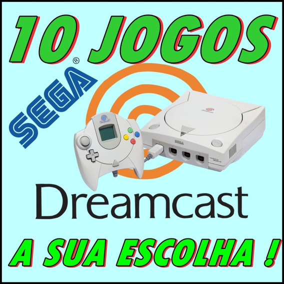 10 Jogos Patch Dreamcast - A Sua Escolha