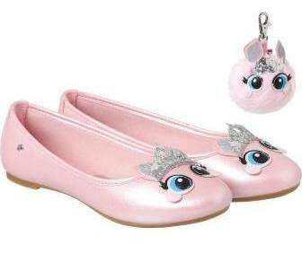 Sapatilha Infantil Pampili Super Fofura Princess Dot Rosa