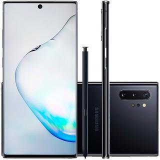 Celular Samsung Galaxy Note 10 Plus Preto 256gb 12gb Ram Tel