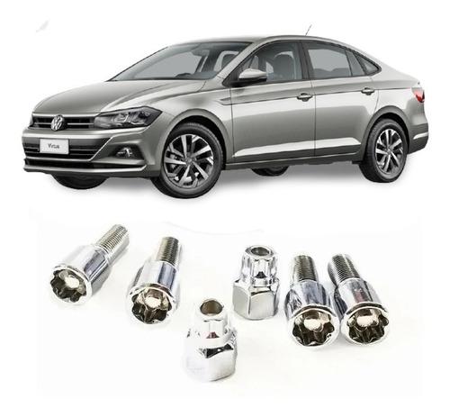 Kit De 4 Birlos De Seguridad Para Volkswagen Virtus 14x1.5