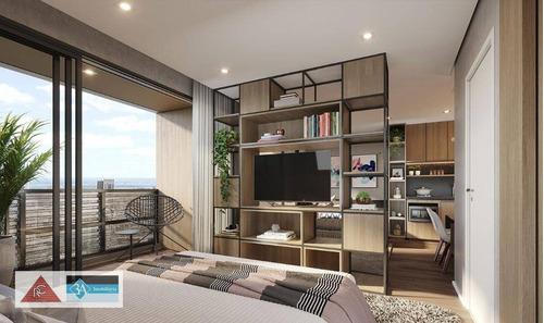 Imagem 1 de 30 de Apartamento Com 1 Dormitório À Venda, 25 M² Por R$ 319.620,32 - Anália Franco - São Paulo/sp - Ap6706