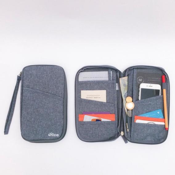 Porta Passaporte E Documentos Viagem Cartão (cores) Promoção