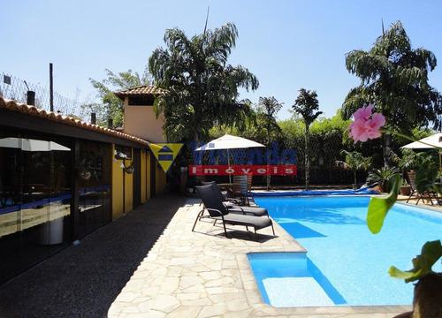Imagem 1 de 10 de Estilo Rústico, Vista Panorâmica Para Centro Histórico De Santana De Parnaíba, 4 Suites, Lazer Compl - As16206