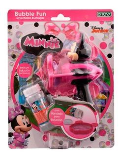 Minnie Bubble Gun B/o 2190 E.full
