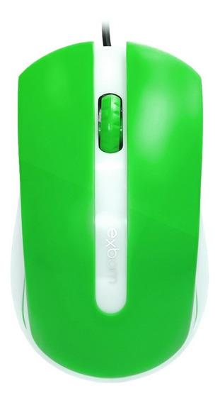 Mouse Usb 1000dpi Optical Verde Exbom Ms-50