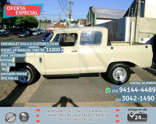 Chevrolet D10 4.0 Custom 4.0 Custom S Cd 8v