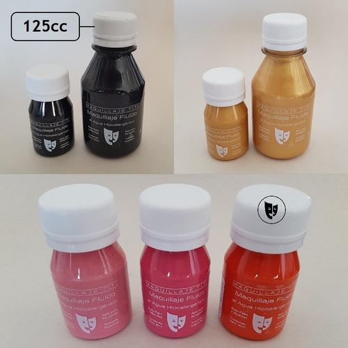 Imagen 1 de 1 de Body Paint Al Agua Maquillaje Titi 125cc - Naranja