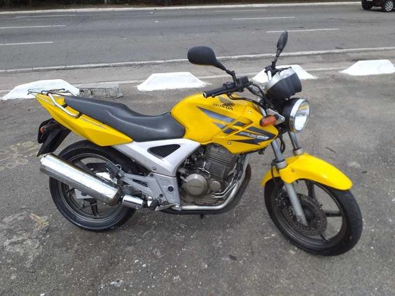 Moto Honda Cbx 250 Twister 2008 Amarela