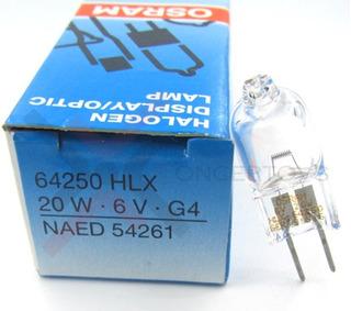 Foco Osram Esb 64250 Hlx 6v 20w G4 P Microscopio