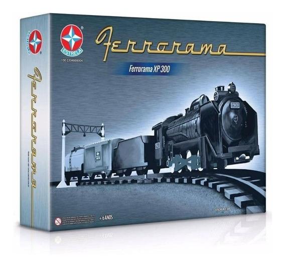 Ferrorama Locomotiva Trem Xp 300 Da Estrela Original Nf