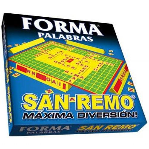 Forma Palabras San Remo Caja